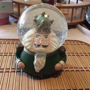 Nutcracker Snow Globe w/ Music Box 🎶